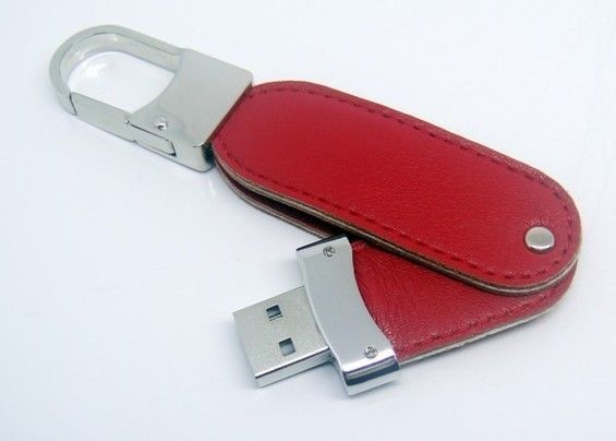 No Encryption Leather USB Stick / Usb Flash Drive Leather USB 2.0 USB 3.0 USB 3.1